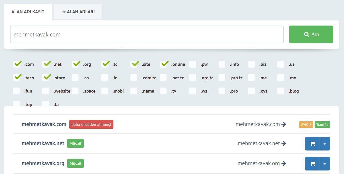 domain-sorgulama-mehmetkavak-guzel-hosting