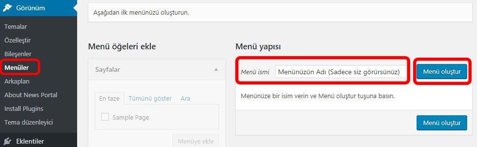 wordpress-menu-olusturma-menu-duzenleme